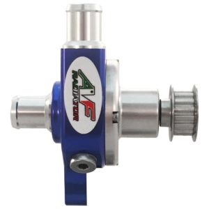go kart radiator water pump with toothed pulley af radiator