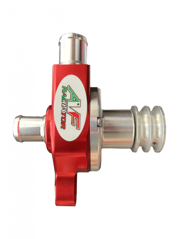 pompa radiatore go kart red line puleggia liscia af radiator 02