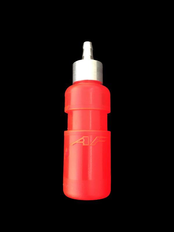 vaschetta recupero acqua radiatore go kart rosso fluo af radiator