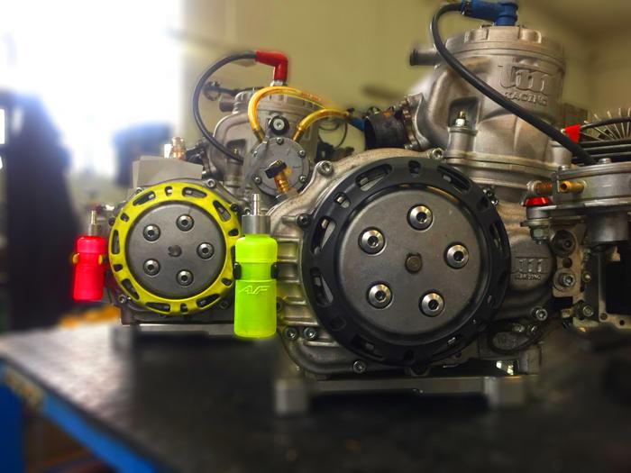 vaschetta recupero olio motore go kart af radiator