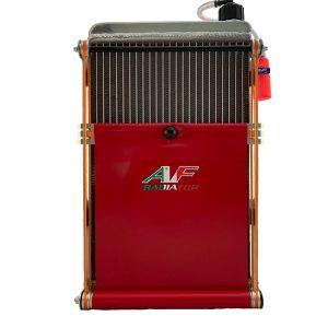 tendina radiatore go kart af1 rossa
