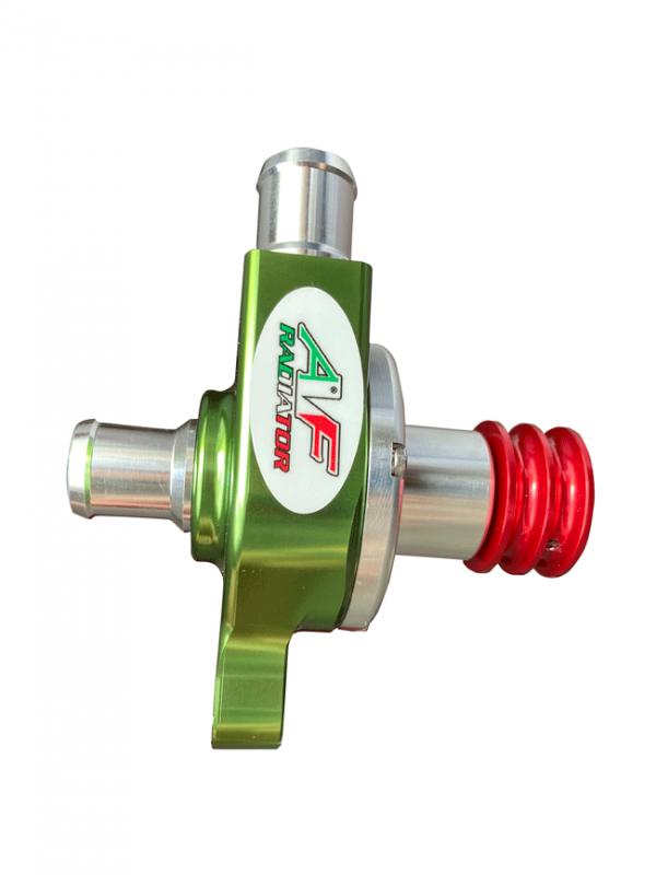 pompa radiatore go kart puleggia liscia italian flag limited edition af radiator 02