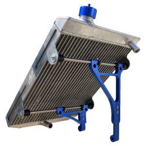 radiatore go kart twenty-1 large blue edition af radiator