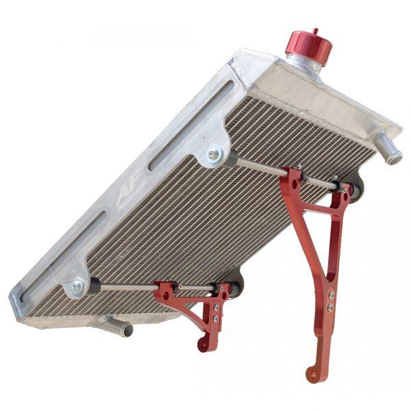 radiatore go kart twenty-1 large red edition af radiator