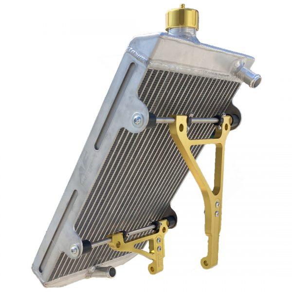 radiatore go kart twenty-1 large yellow edition af radiator