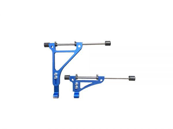 supporto radiatore gokart blu af radiator