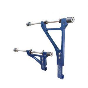 radiator brackets go kart twenty-1 large blue edition