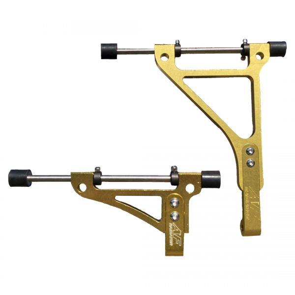 supporti radiatore go kart twenty-1 standard yellow edition
