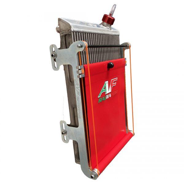 tendina radiatore go kart twenty-1 large rossa
