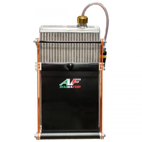 tendina radiatore go kart twenty-1 standard nera