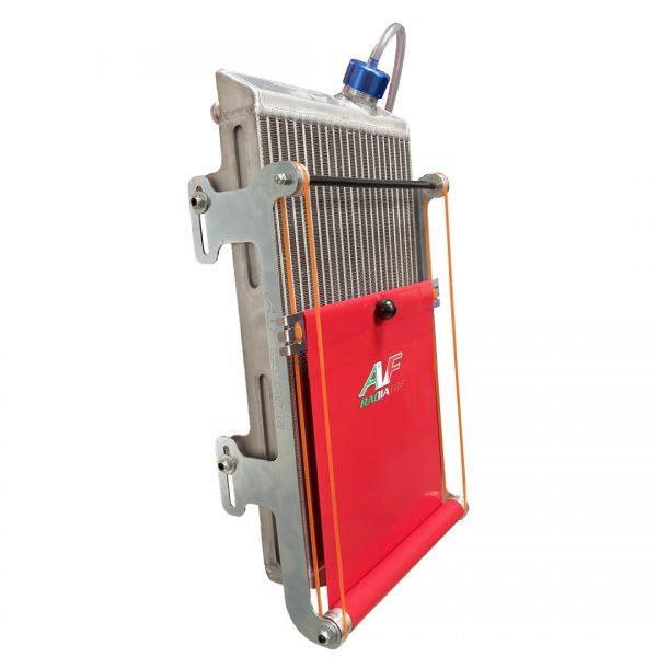 tendina radiatore go kart twenty-1 standard rossa