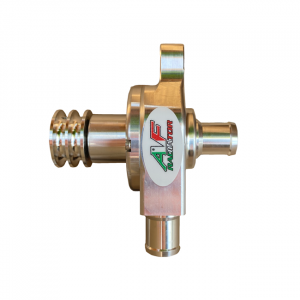 pompa acqua radiatore go kart af radiator argento