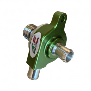 go kart radiator water pump with smooth pulley green line edition
