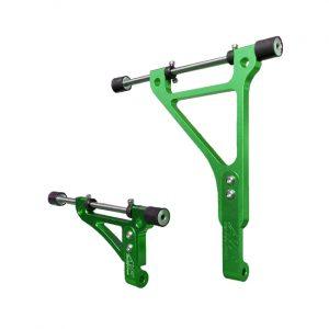 go kart radiator bracket twenty-1 large green edition 1
