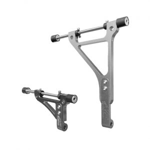 go kart radiator bracket twenty-1 standard silver edition 1