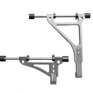 go kart radiator bracket twenty-1 standard silver edition 2