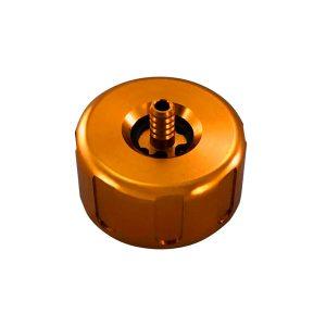 tappo radiatore go kart alluminio af radiator arancione